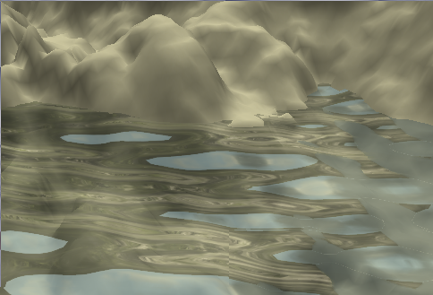 Water simulation in GLSL